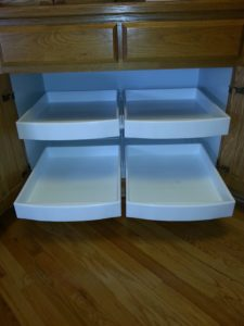 Double Roll Out Drawers